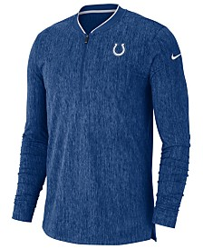 Nike Men's Indianapolis Colts Coaches Quarter-Zip Pullover