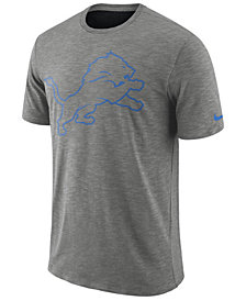 Nike Men's Detroit Lions Dri-Fit Cotton Slub On-Field T-Shirt