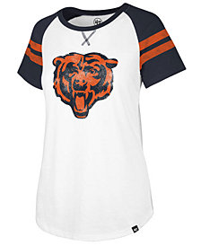 '47 Brand Women's Chicago Bears Flyout Raglan T-Shirt