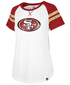 '47 Brand Women's San Francisco 49ers Flyout Raglan T-Shirt