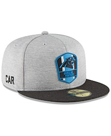 New Era Carolina Panthers On Field Sideline Road 59FIFTY FITTED Cap