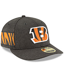 New Era Cincinnati Bengals On Field Low Profile Sideline Home 59FIFTY FITTED Cap