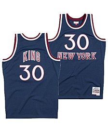 Men's Bernard King New York Knicks Hardwood Classic Swingman Jersey