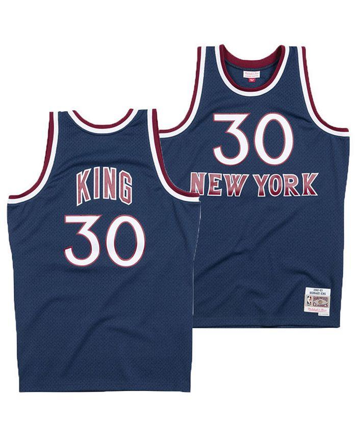 Mitchell & Ness Men's Bernard King New York Knicks Hardwood ...