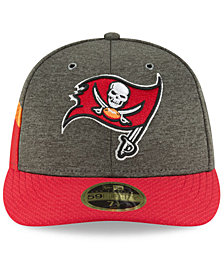 New Era Tampa Bay Buccaneers On Field Low Profile Sideline Home 59FIFTY FITTED Cap