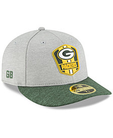 New Era Green Bay Packers On Field Low Profile Sideline Road 59FIFTY FITTED Cap
