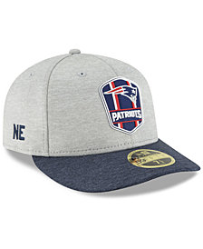 New Era New England Patriots On Field Low Profile Sideline Road 59FIFTY FITTED Cap
