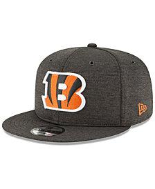 New Era Cincinnati Bengals On Field Sideline Home 9FIFTY Snapback Cap
