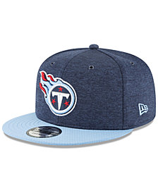 New Era Tennessee Titans On Field Sideline Home 9FIFTY Snapback Cap