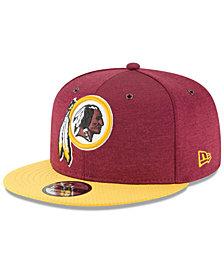 New Era Washington Redskins On Field Sideline Home 9FIFTY Snapback Cap