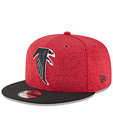 New Era Atlanta Falcons On Field Sideline Home 9FIFTY Snapback Cap