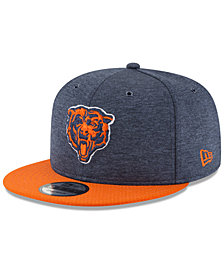 New Era Chicago Bears On Field Sideline Home 9FIFTY Snapback Cap