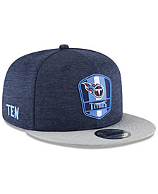 New Era Tennessee Titans On Field Sideline Road 9FIFTY Snapback Cap