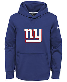 Nike New York Giants Circuit Logo Hoodie, Big Boys (8-20)
