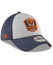 New Era Chicago Bears On Field Sideline Road 39THIRTY Stretch Fitted Cap