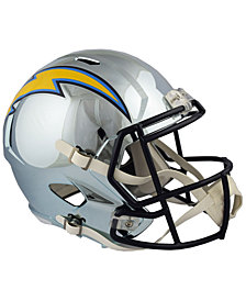 Riddell Los Angeles Chargers Speed Chrome Alt Replica Helmet