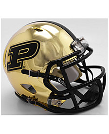 Riddell Purdue Boilermakers Speed Chrome Alt Mini Helmet
