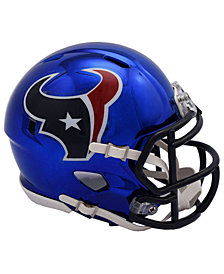 Riddell Houston Texans Speed Chrome Alt Mini Helmet