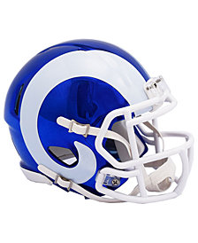 Riddell Los Angeles Rams Speed Chrome Alt Mini Helmet