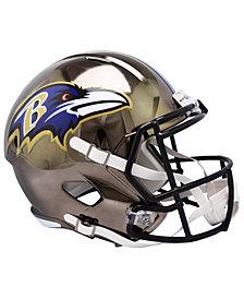 Riddell Baltimore Ravens Speed Chrome Alt Replica Helmet