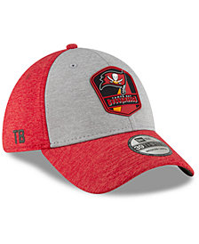 New Era Tampa Bay Buccaneers On Field Sideline Road 39THIRTY Stretch Fitted Cap