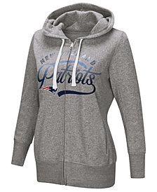 Touch by Alyssa Milano Women's New England Patriots Touch Glitter Hoodie