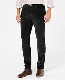 Michael Kors Men's Slim-Fit Corduroy Pants