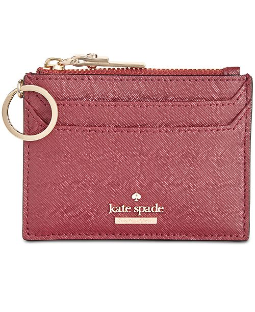 0dca2bb920 kate spade new york Lalena Saffiano Leather Card Holder   Reviews ...