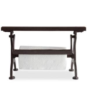 Image of Cast Iron & Wood Paper Towel Holder - 3R Studios, Red