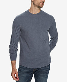 Weatherproof Vintage Men's Brushed Jersey Crew