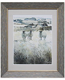 Acrylic Framed Wall Decor with Sheep