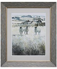 Acrylic Framed Wall Decor with Sheep