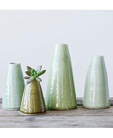 3R Studio Terra Cotta Vases, Set of 4