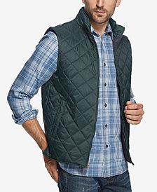 Weatherproof Vintage Men's Quilted Full-Zip Vest, Created for Macy's