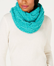 I.N.C. Textured Infinity Scarf, Created for Macy's
