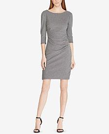 Lauren Ralph Lauren Knit Jacquard Sheath Dress