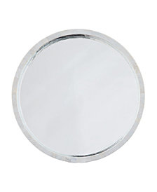Mother of Pearl Mirror, Quick Ship