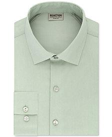 Kenneth Cole Reaction Men's Techni-Cole Slim-Fit Flex Collar Three-Way Stretch Performance Solid Dress Shirt