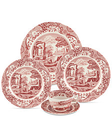 Spode Cranberry Italian 5-Pc. Place Setting