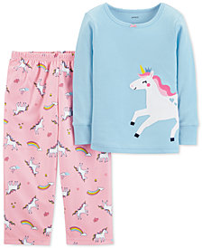 19bec0e60 Pajamas 3T Toddler Girl Clothes - Macy s