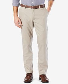 Men's Signature Lux Cotton Athletic Fit Stretch Khaki Pants