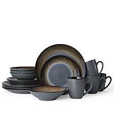 Monroe 16-Pc. Dinnerware Set, Service for 4