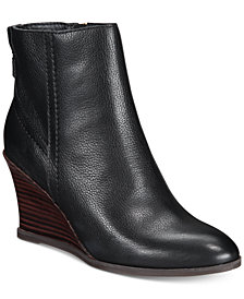 Lucca Lane Zippy Wedge Booties