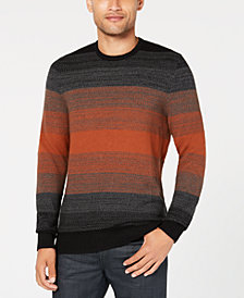 Alfani Men's Striped Sweater, Created for Macy's