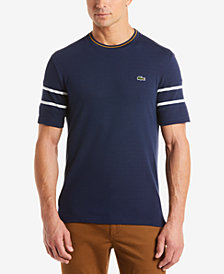 Lacoste Men's Striped Trim T-Shirt, Created for Macy's