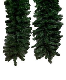 50' Douglas Fir Artificial Christmas Garland Unlit