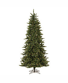 8.5' Camdon Fir Slim Artificial Christmas Tree with 800 Clear Lights
