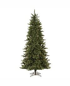 Vickerman 8.5' Camdon Fir Slim Artificial Christmas Tree with 800 Clear Lights