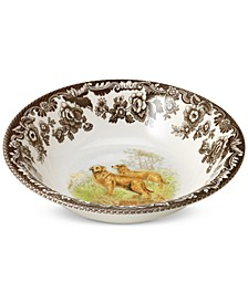 Woodland Golden Retriever Cereal Bowl