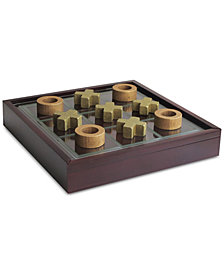 Jay Imports Elle Tic-Tac-Toe Game with Wooden Box